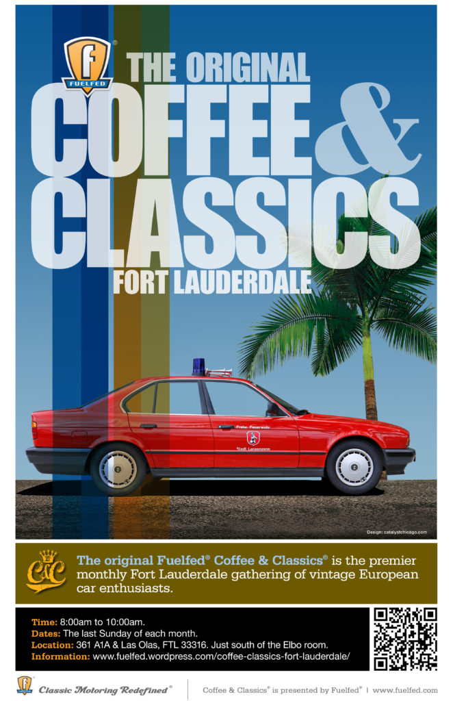 Fuelfed Coffee & Classics @ A1A at Las Olas, Oceanside Parking Lot | Fort Lauderdale | Florida | United States
