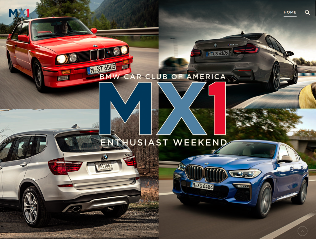 BMW CCA MX1 Enthusiast Weekend @ BMW CCA